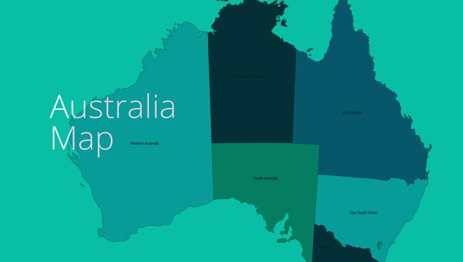 australia map, map of australia, map australia