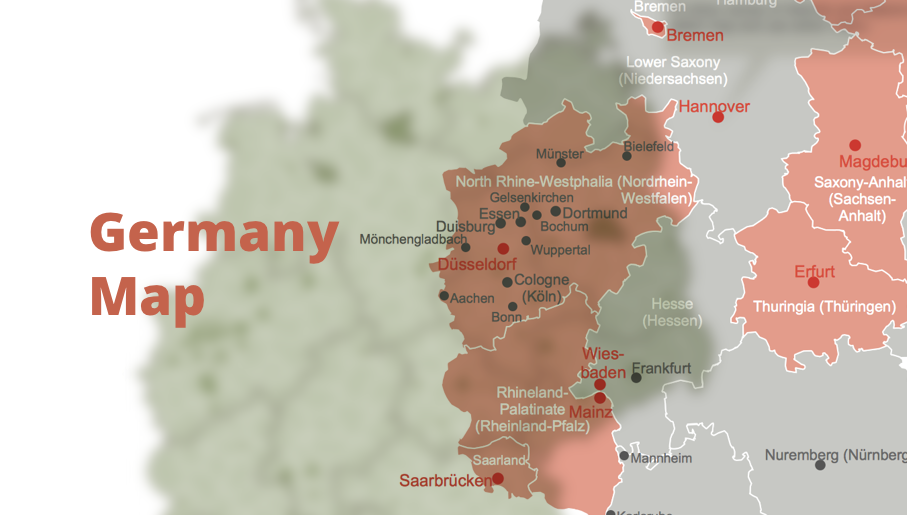 map of germany, germany map, vector map, maps of germany, map of germany with cities