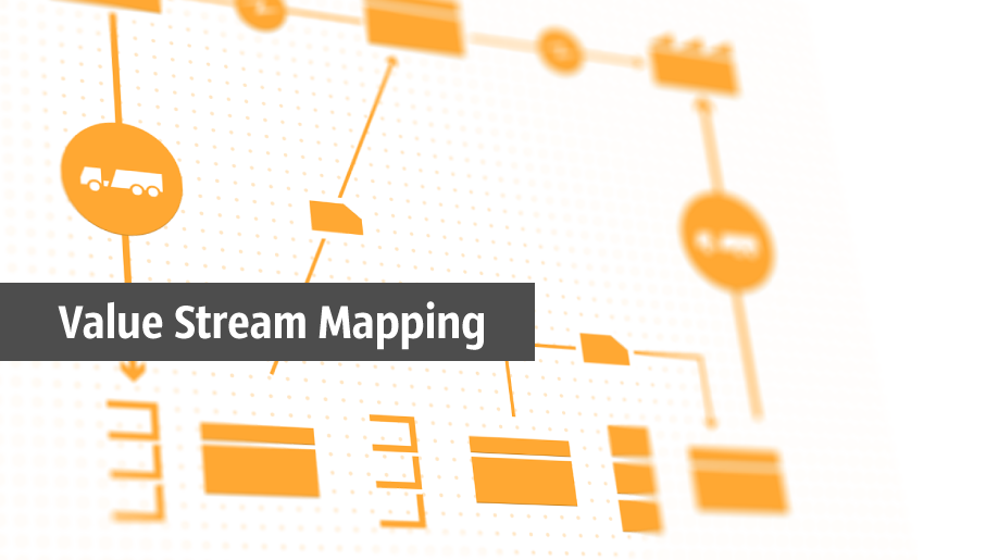 value stream map, VSM