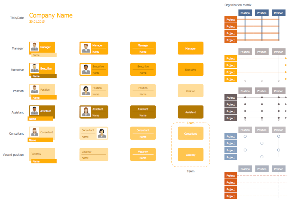 Design Elements — Organizational Chart