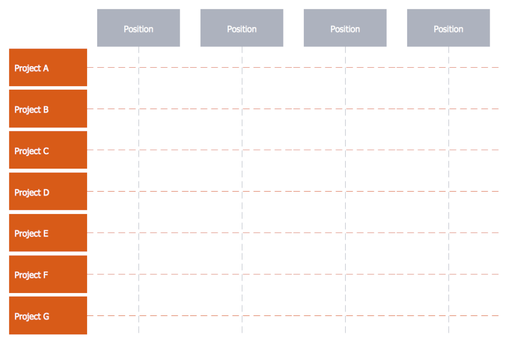 Matrix Org Chart Template 5
