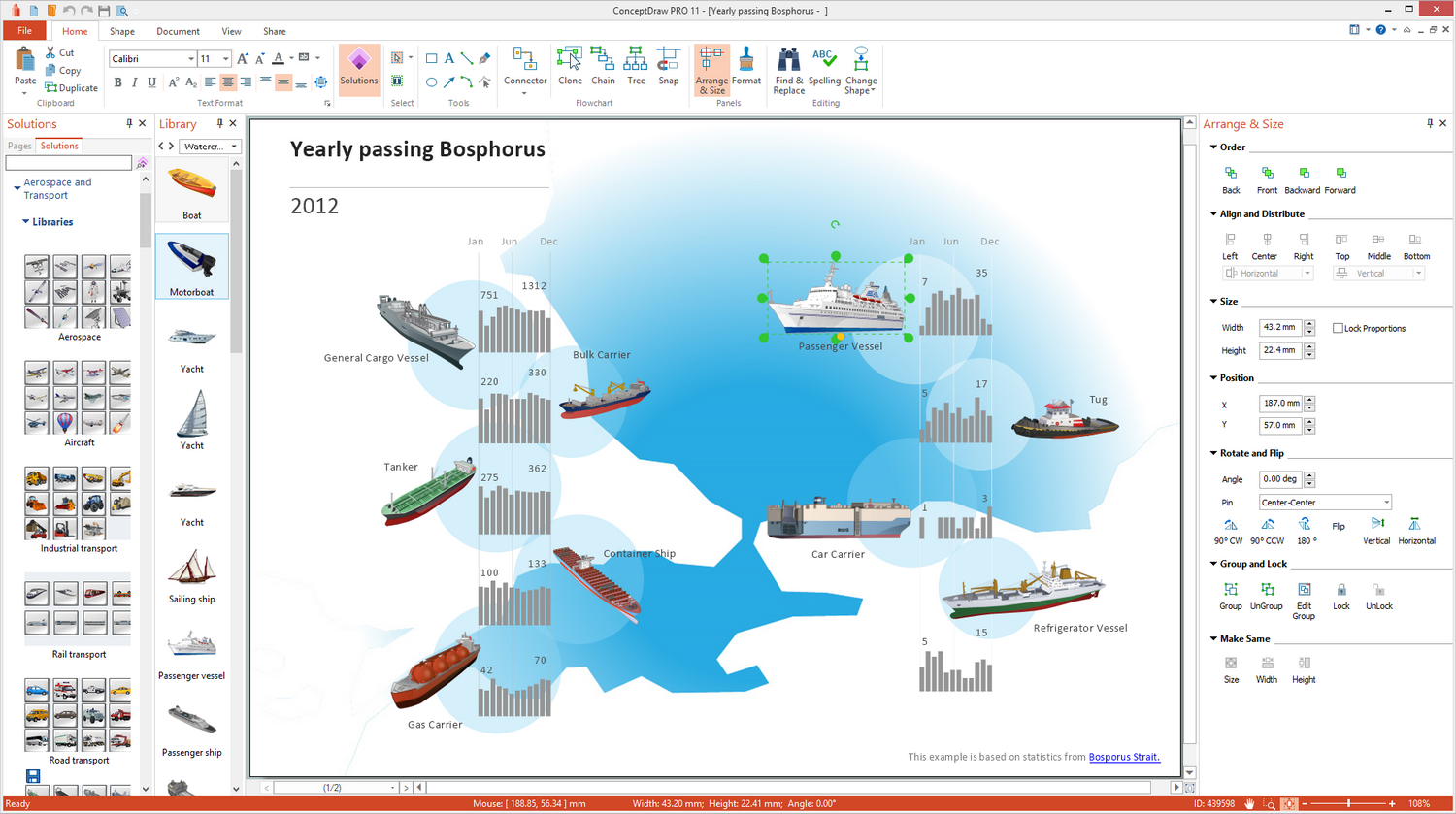 Aerospace and Transport Illustration solution for Microsoft Windows
