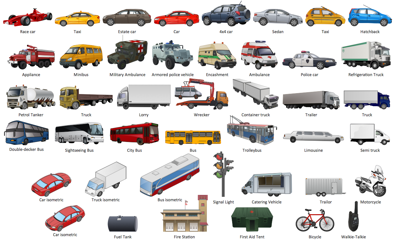 Design Element — Road Transport