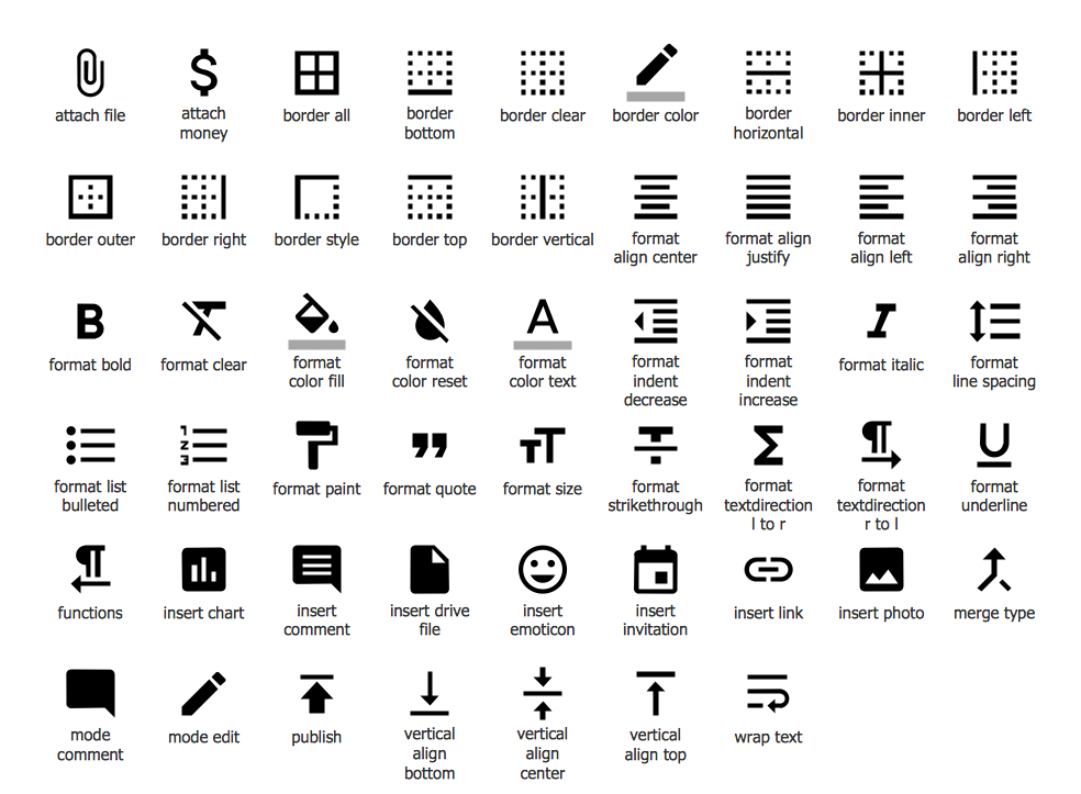Design Elements — Android System Icons (editor)