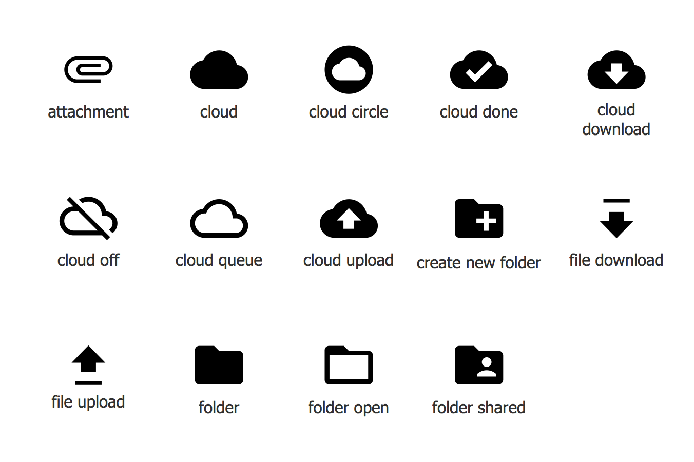 Design Elements — Android system icons (file)