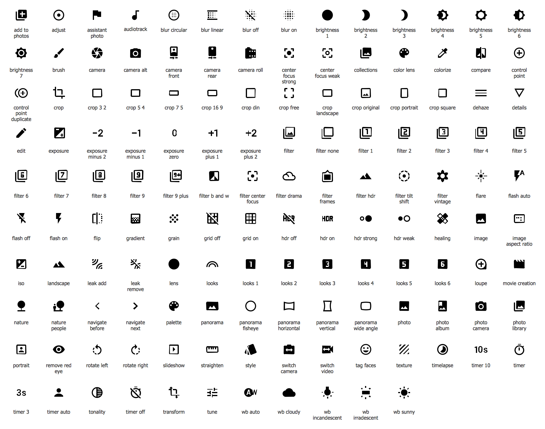 Design Elements — Android System Icons (image)