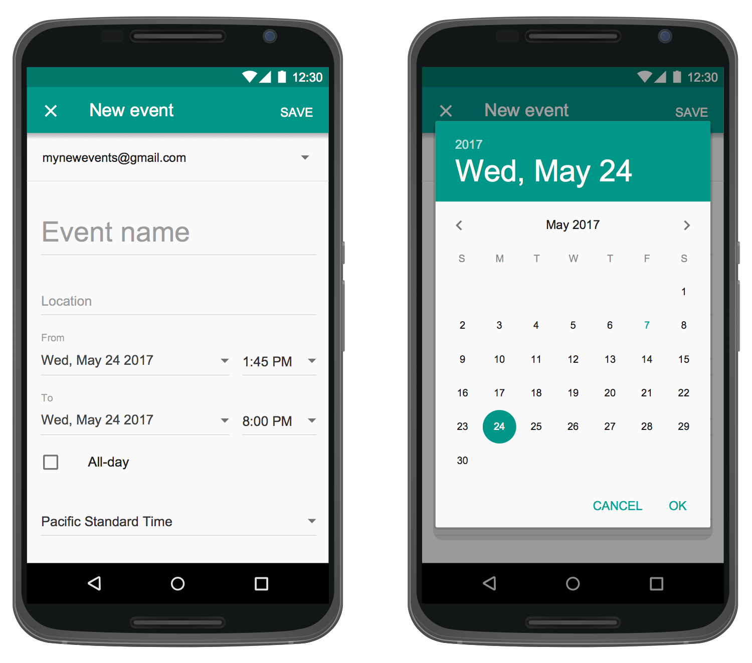 android user interface  solution