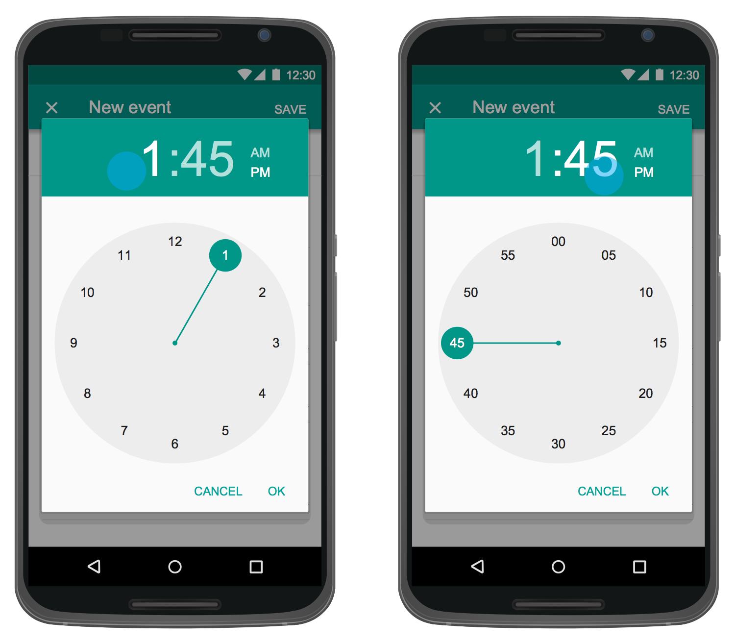 User Interface Android — Time Picker Dialog