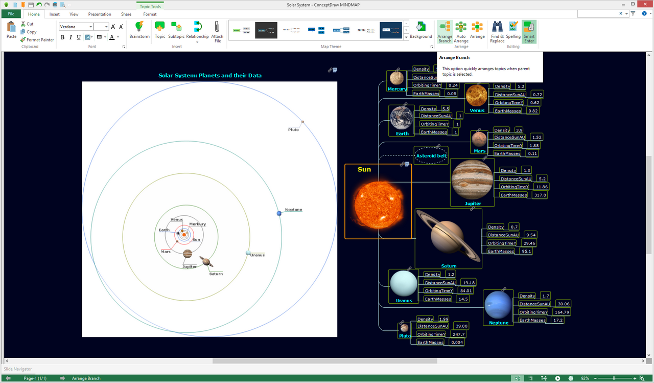 Astronomy solution for Microsoft Windows