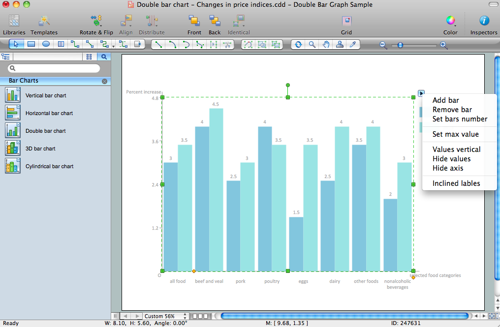 Basic Bar Graphs Solution for Apple OS X