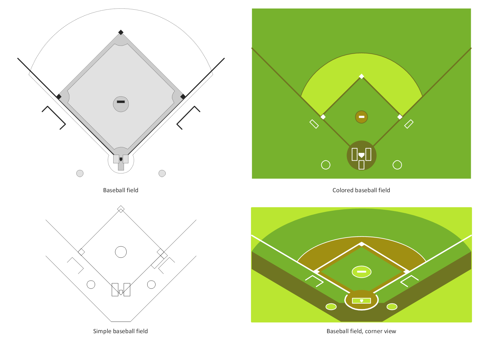 Design Elements — Baseball Fields