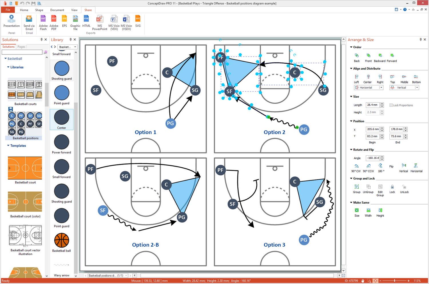 Basketball solution for Microsoft Windows