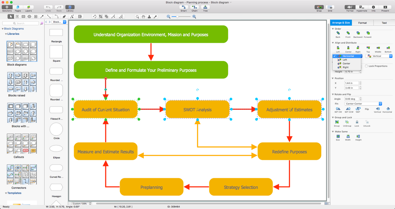 Block diagrams solution conceptdraw block diagrams solution for macos x pooptronica