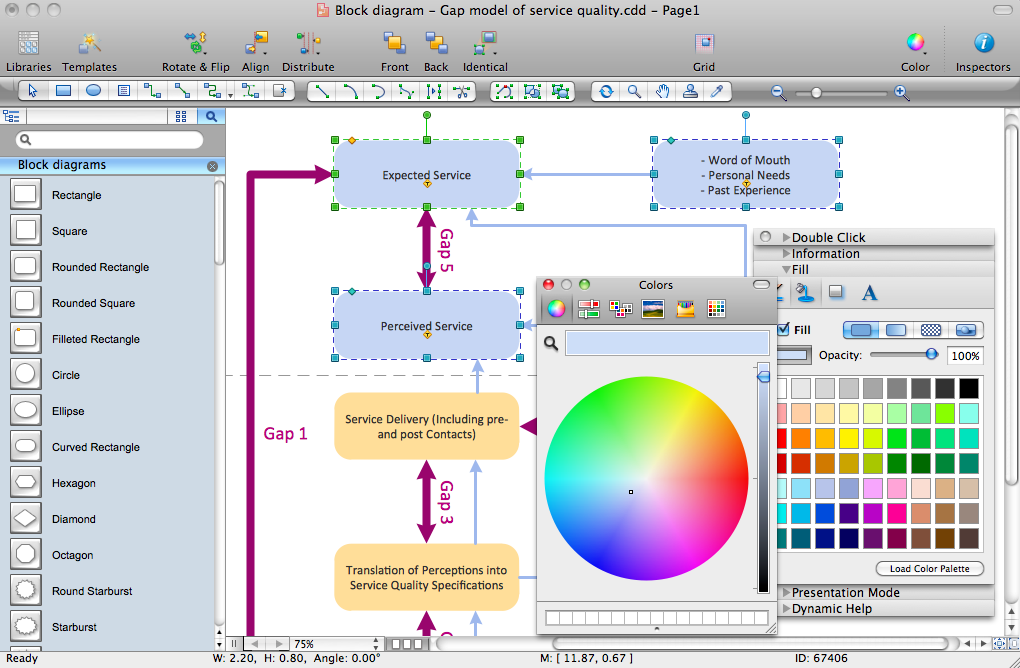 Block diagram software download conceptdraw to create easy block block diagram software ccuart Images