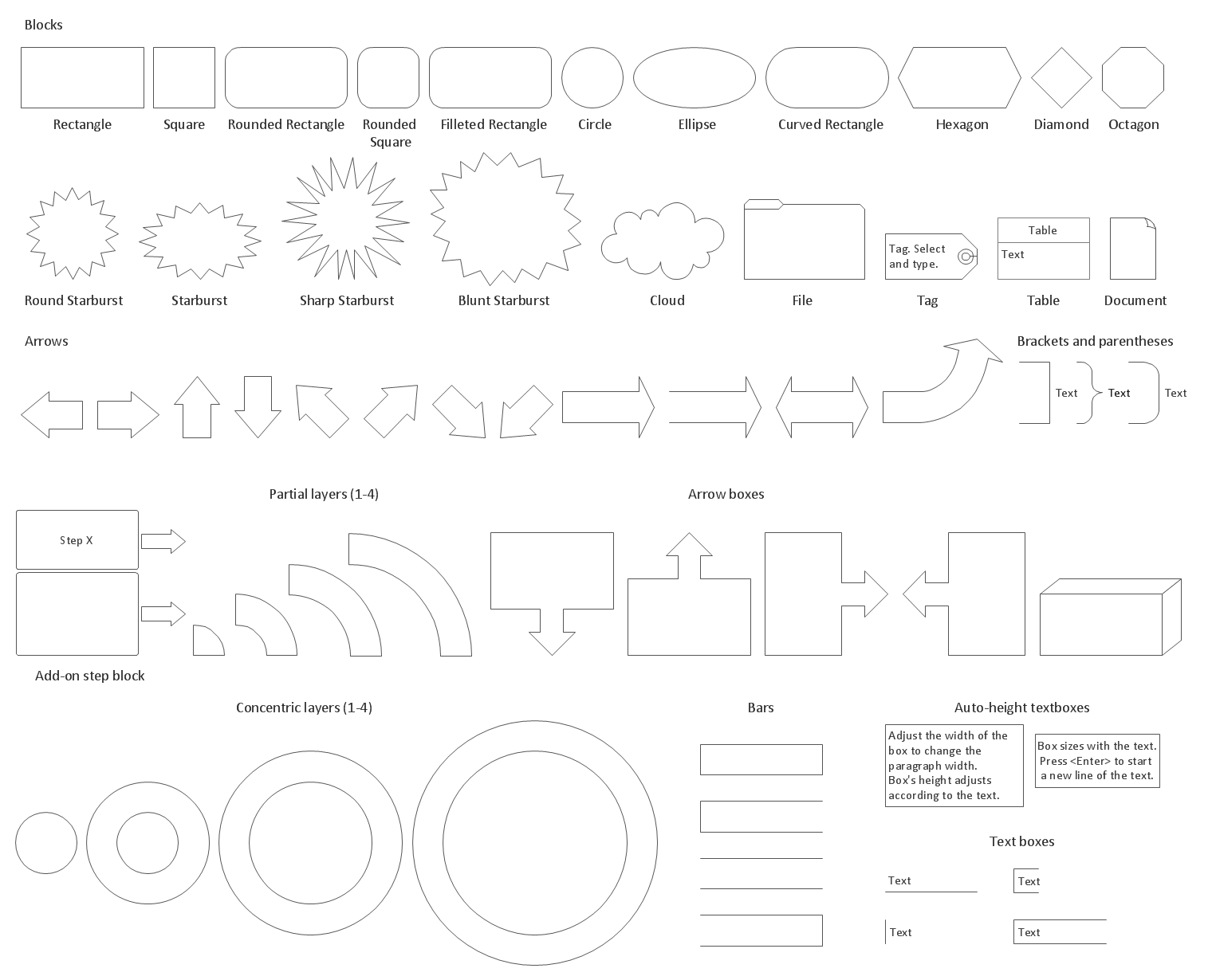 Design Elements — Block Diagrams