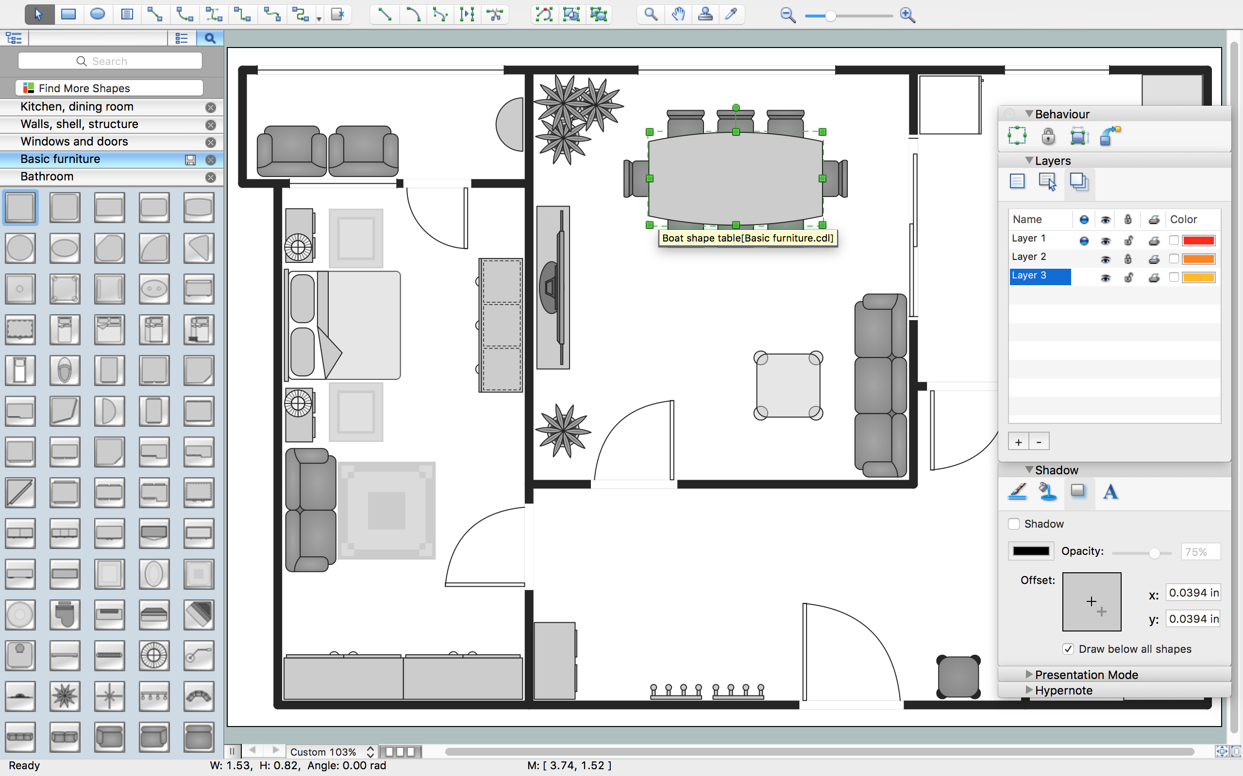 New Basic Floor Plan Solution for Complete Building Design Image