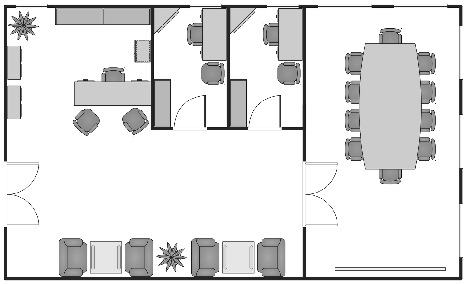 Basic Floor Plan - Small Office Floor Plan