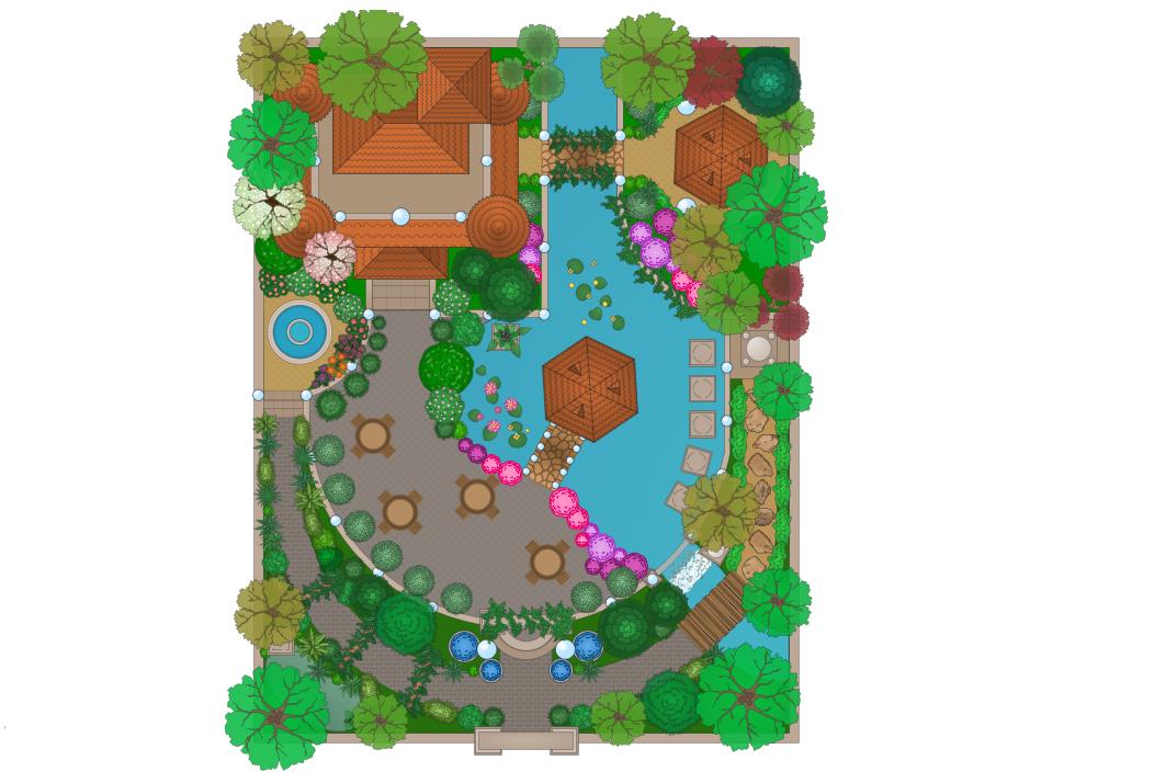 Moresque Garden