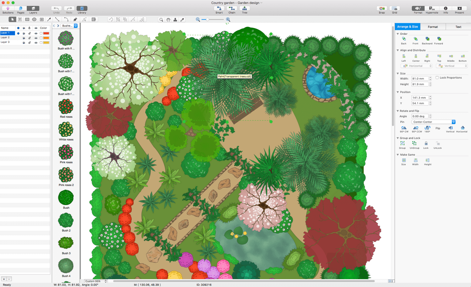 Landscape and Garden Solution for Apple macOS