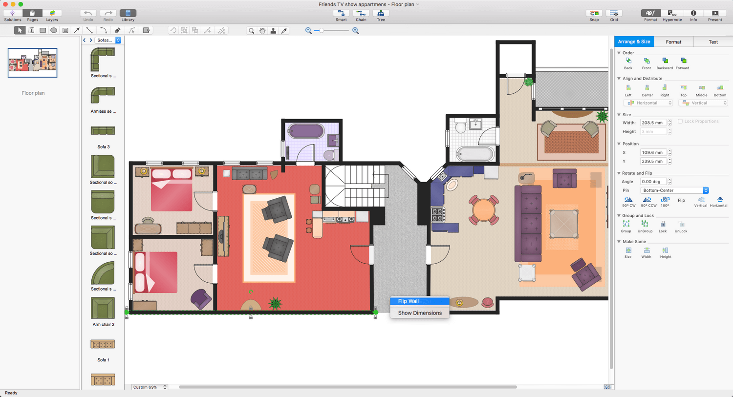 Floor Plans Solution for Apple macOS