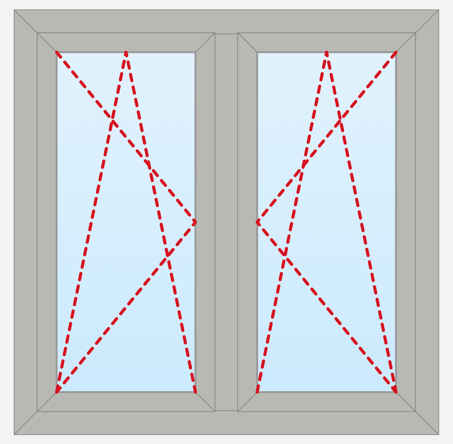 2 Panels Outside