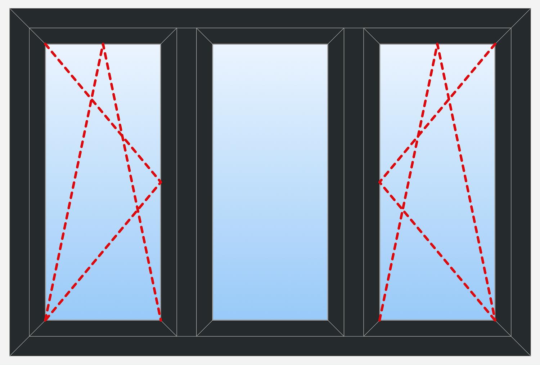 3 Panels Outside