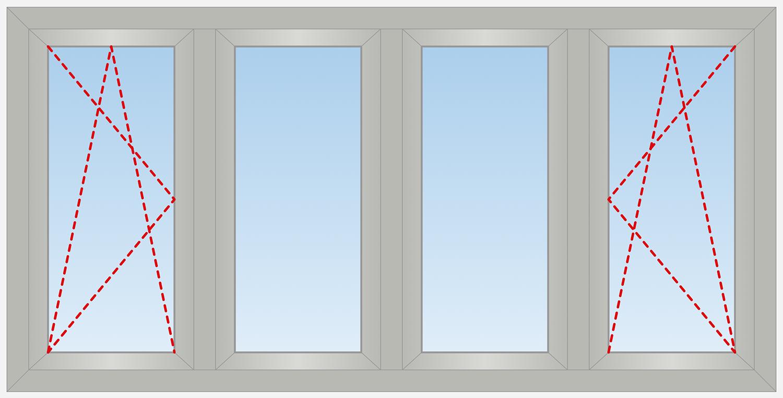 4 Panels Outside