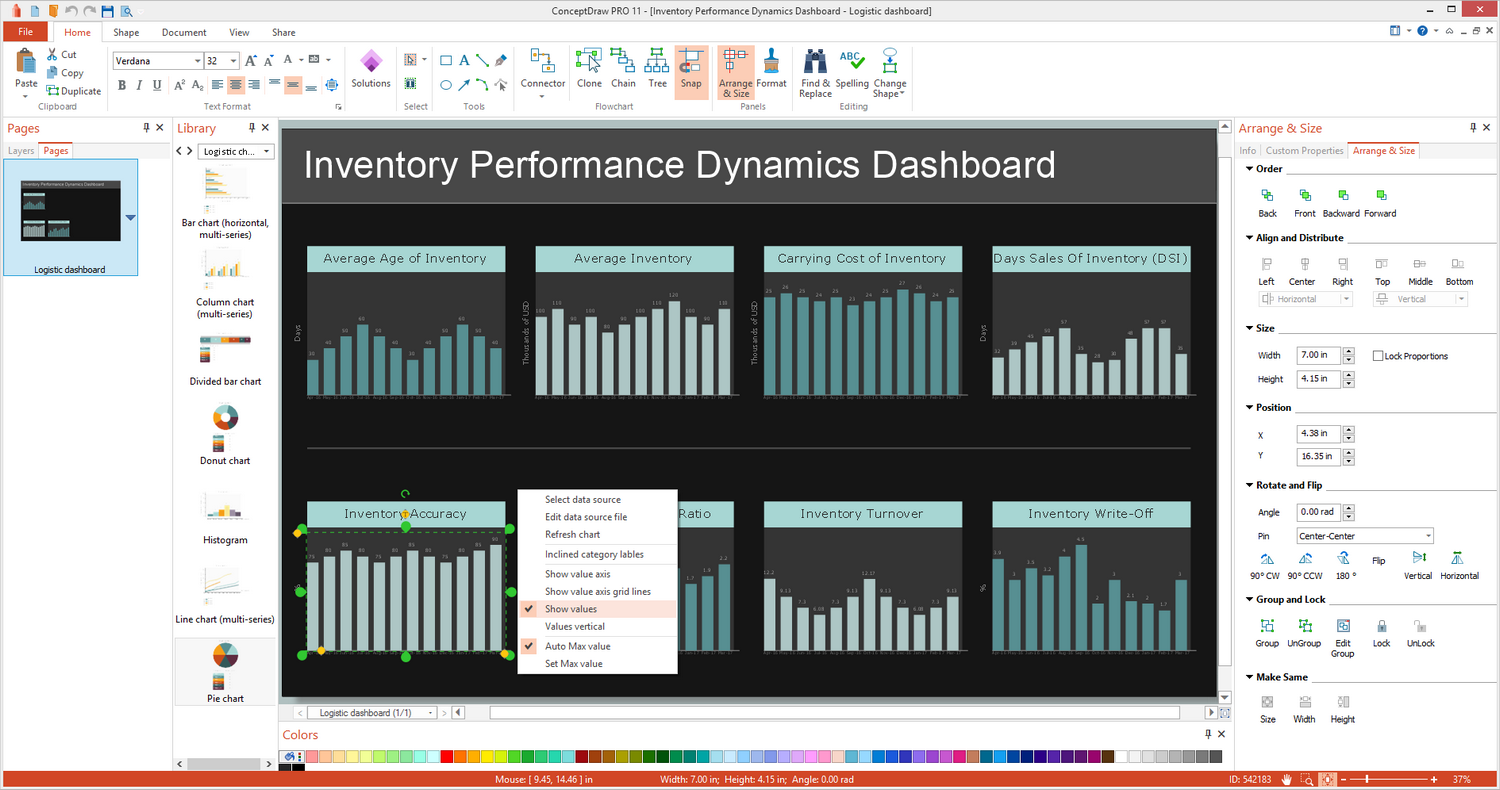 Logistic Dashboard Solution for Windows