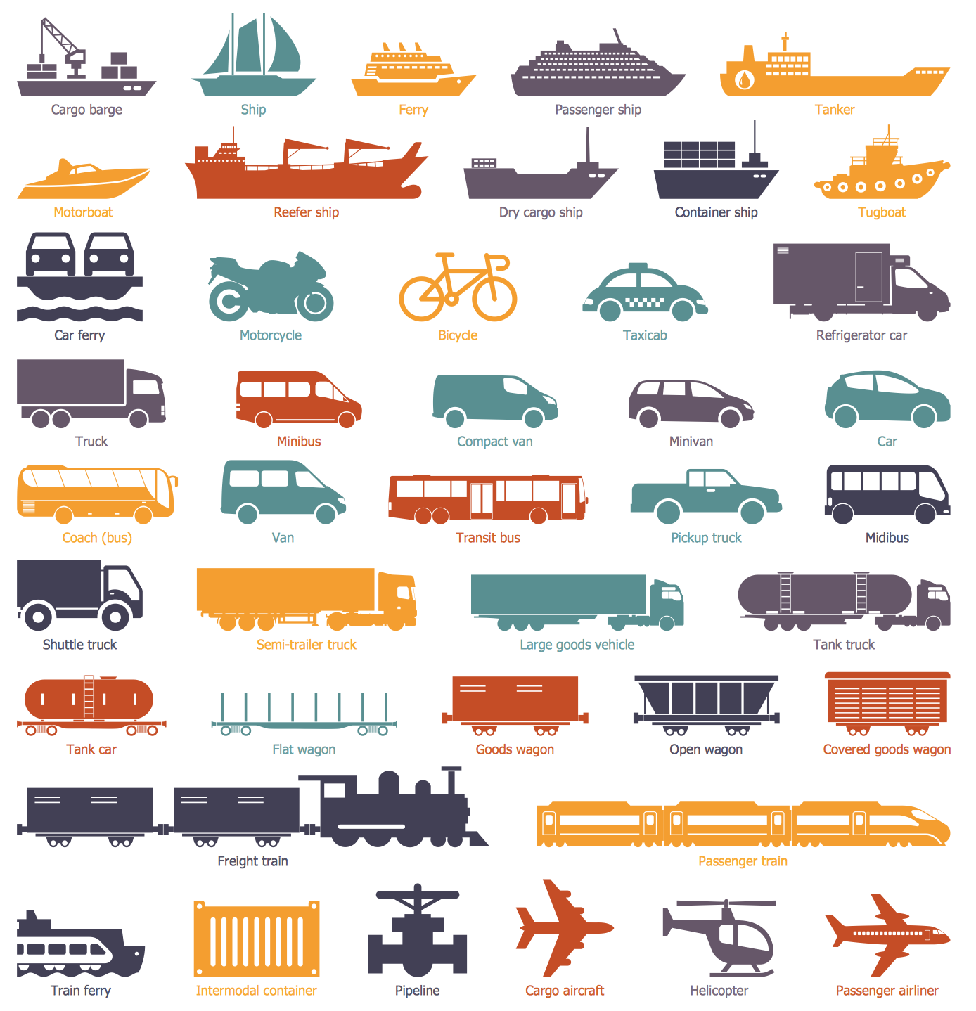 Design Elements — Logistic Transport
