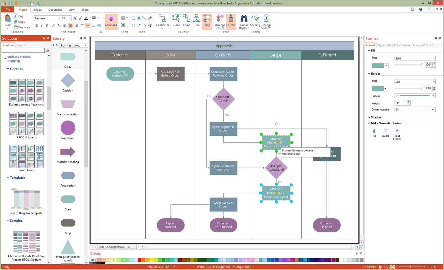 Business Process Mapping Solution for Microsoft Windows