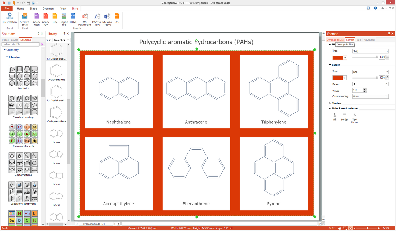 Chemistry solution for Microsoft Windows