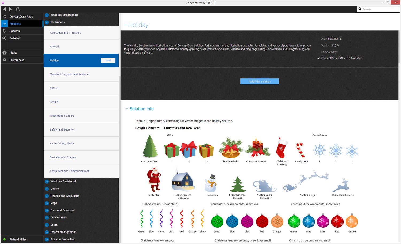 Holiday Illustration Solution - Install