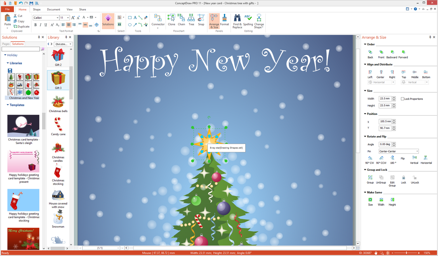 Holiday Illustration Solution for Microsoft Windows