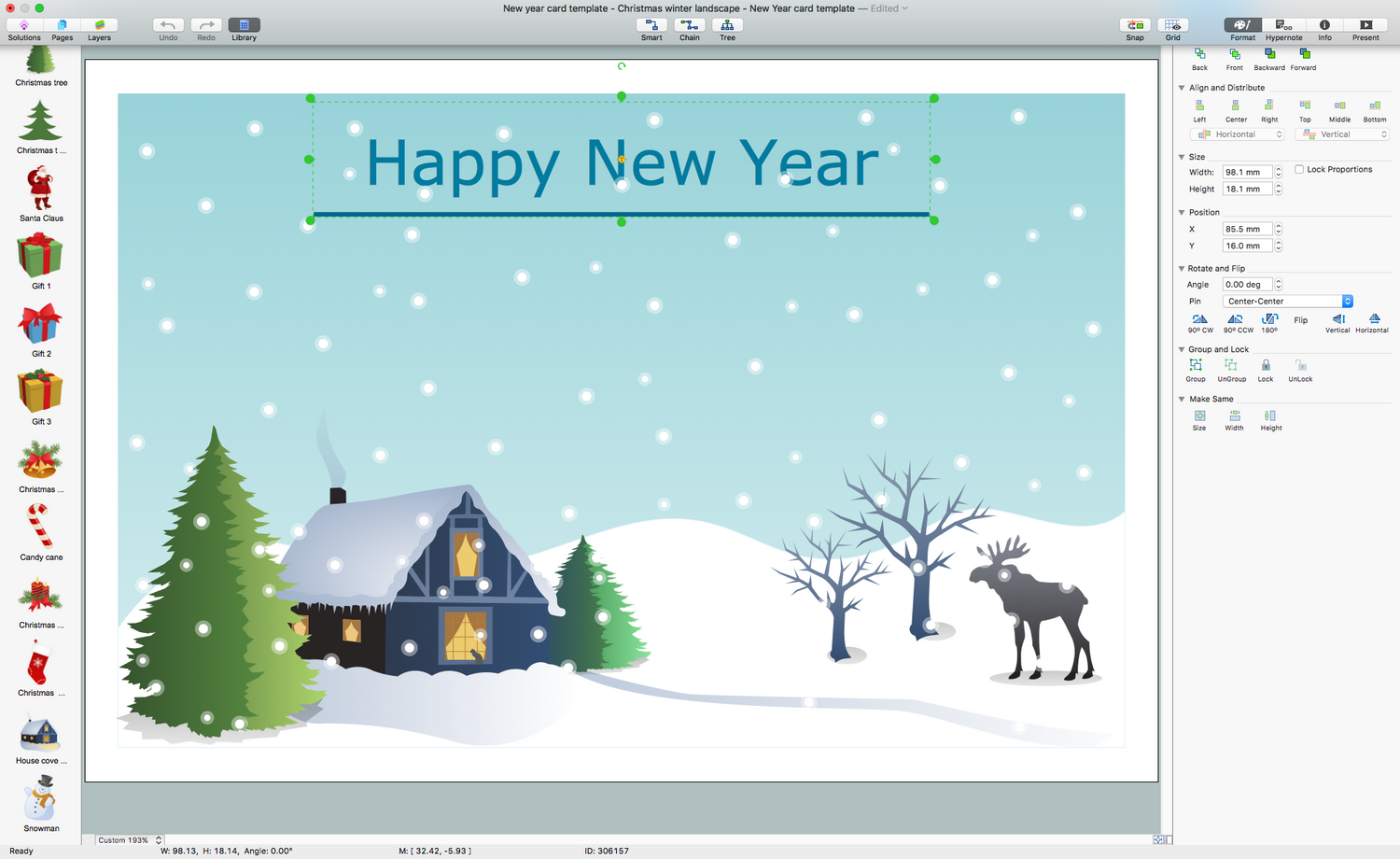 Holiday Illustration Solution for macOS
