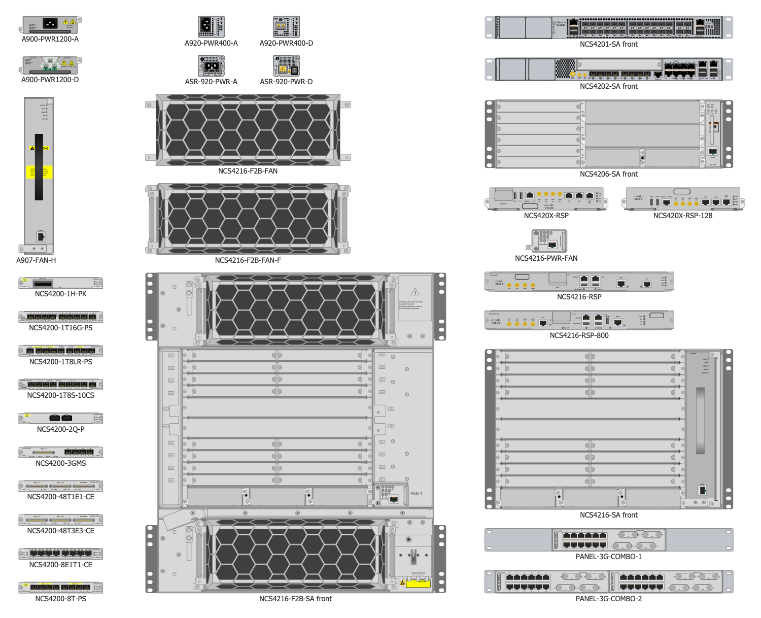 Design Elements — Cisco Optical NCS 4200