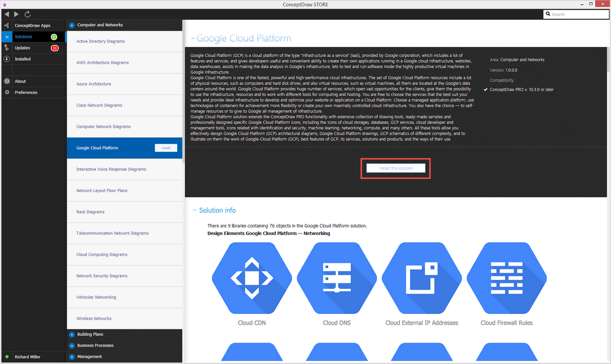 Google Cloud Platform | ConceptDraw com