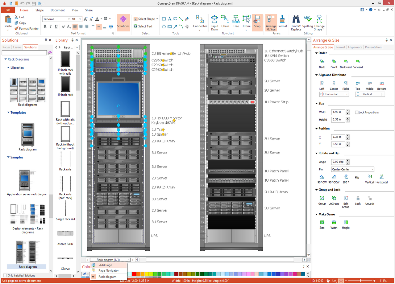 Create a rack diagram office support oukasfo create a rack diagram office support ccuart Image collections