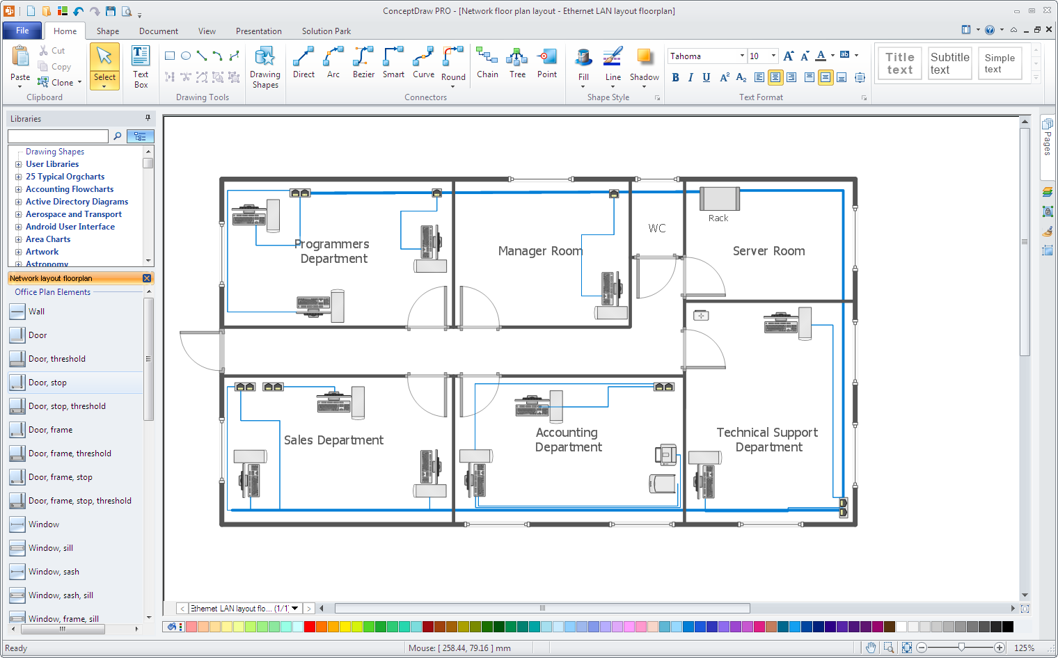 Office Network layout
