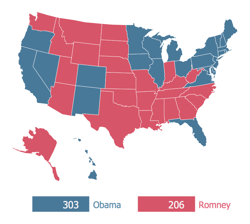 2012 US Presidential Election Results