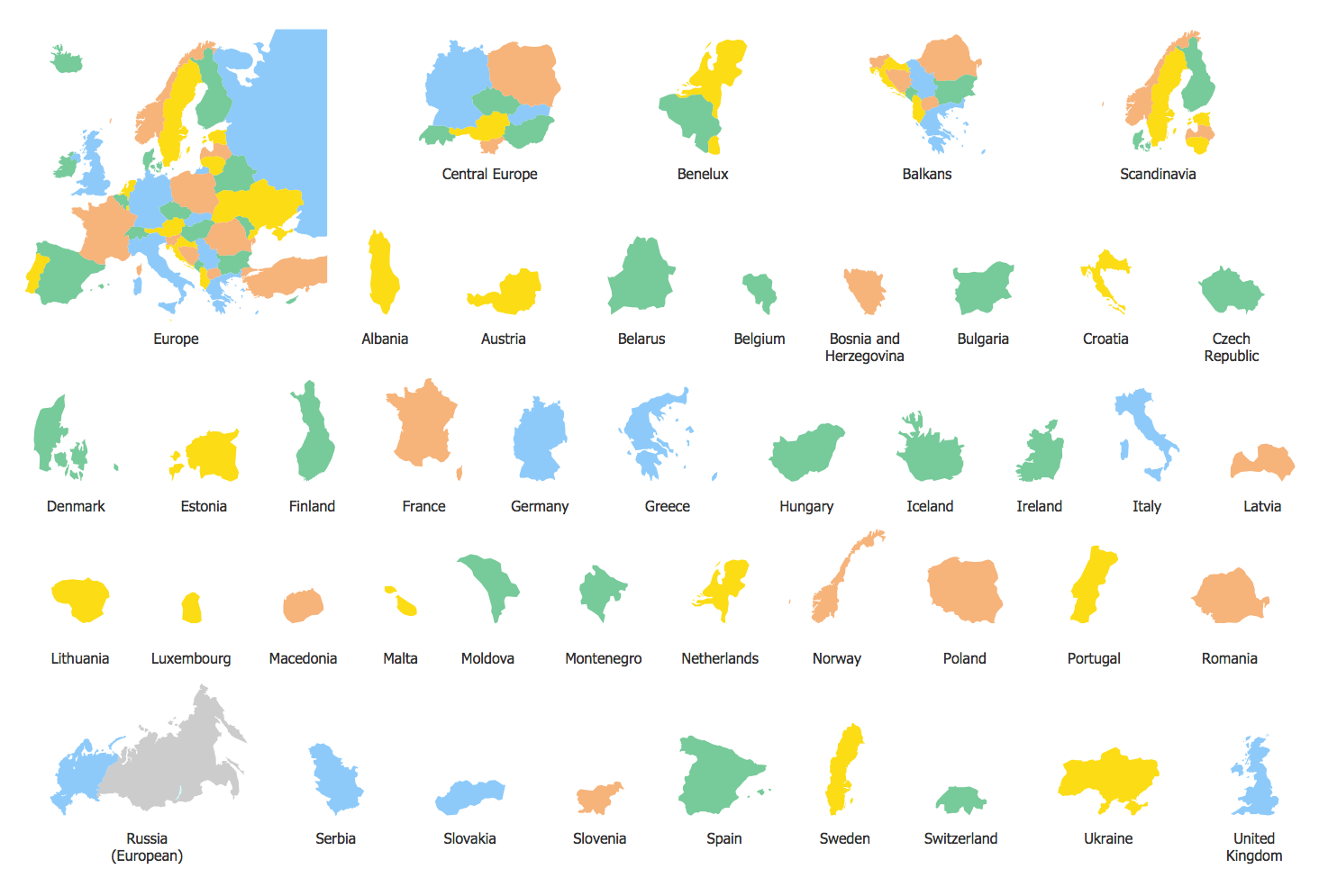 Design Elements — Europe