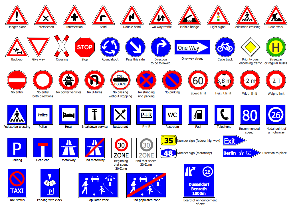 Design Elements — Road Signs