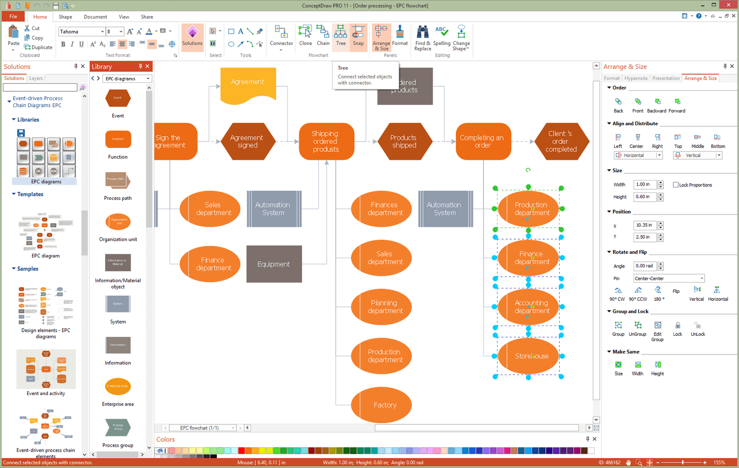Event-driven Process Chain Diagrams EPC Solution for Microsoft Windows