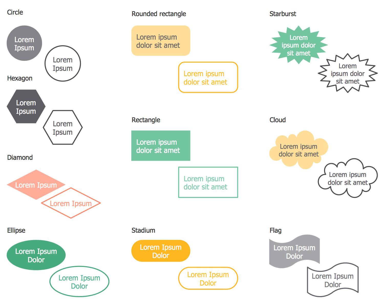Design Elements — Financial Diagrams