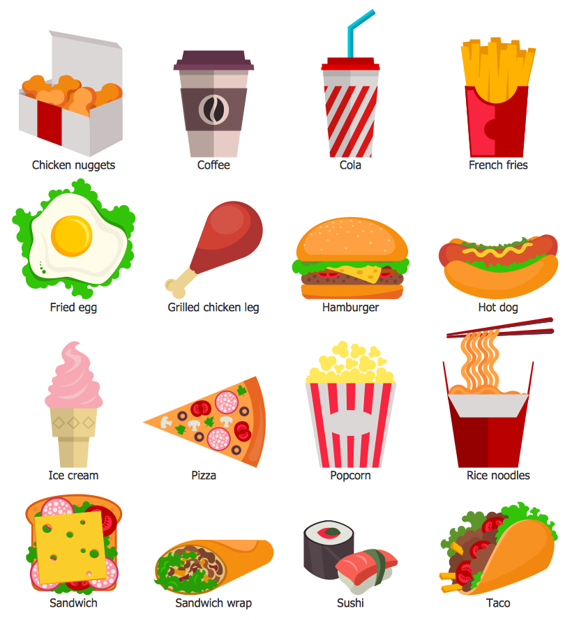 Design Elements Food and Beverage — Fast Food
