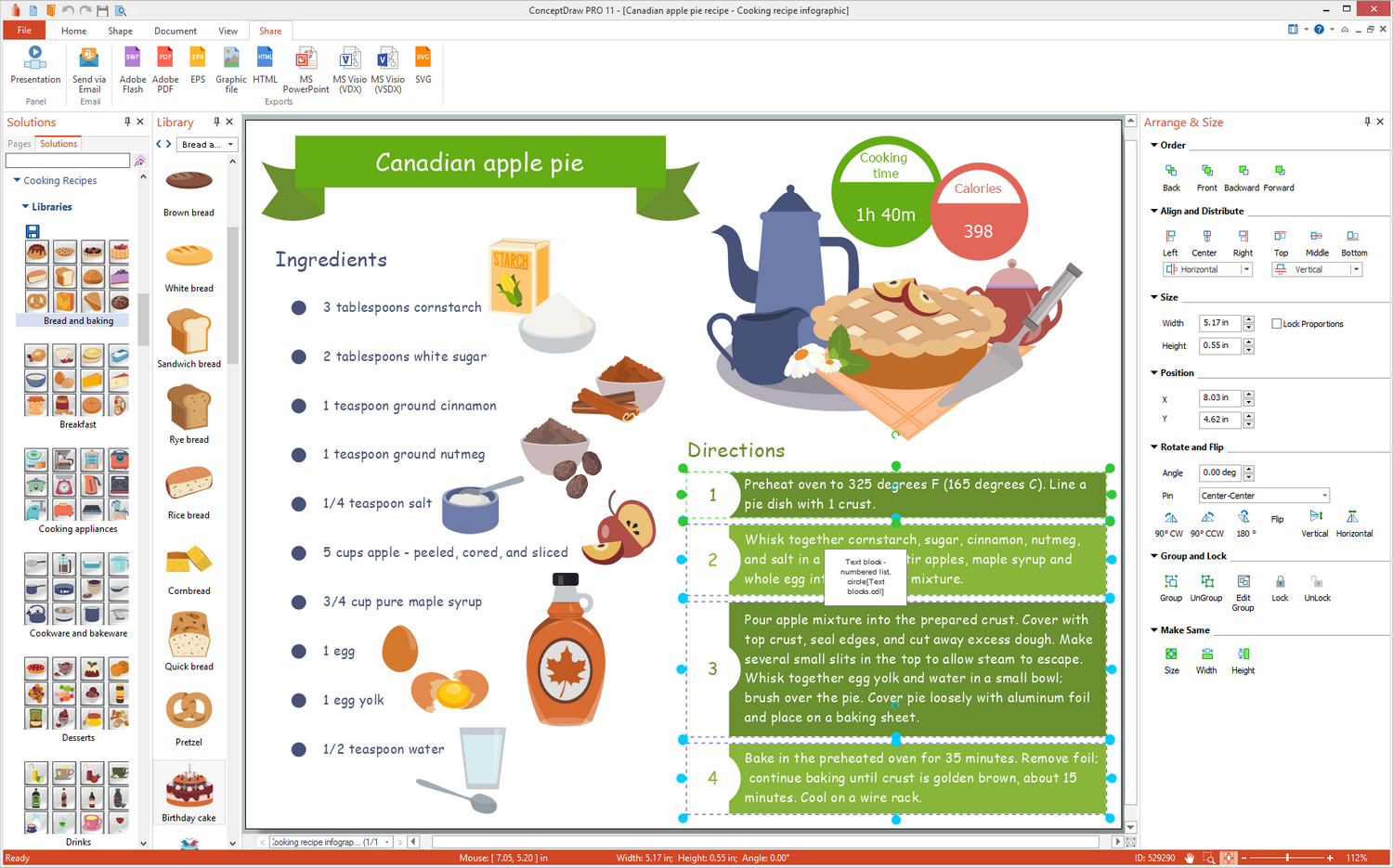 Cooking Recipes Solution for Microsoft Windows
