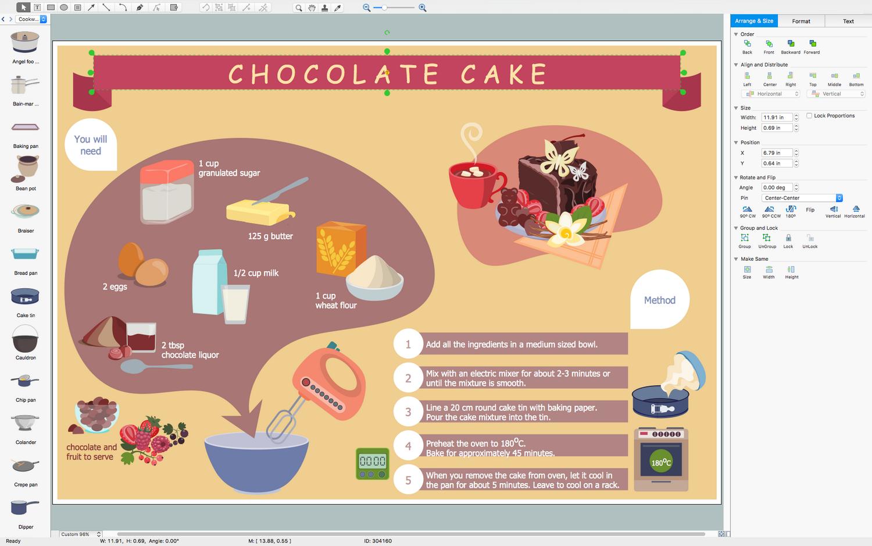 Cooking Recipes Solution ConceptDrawcom - Custom vinyl decal application fluid recipe