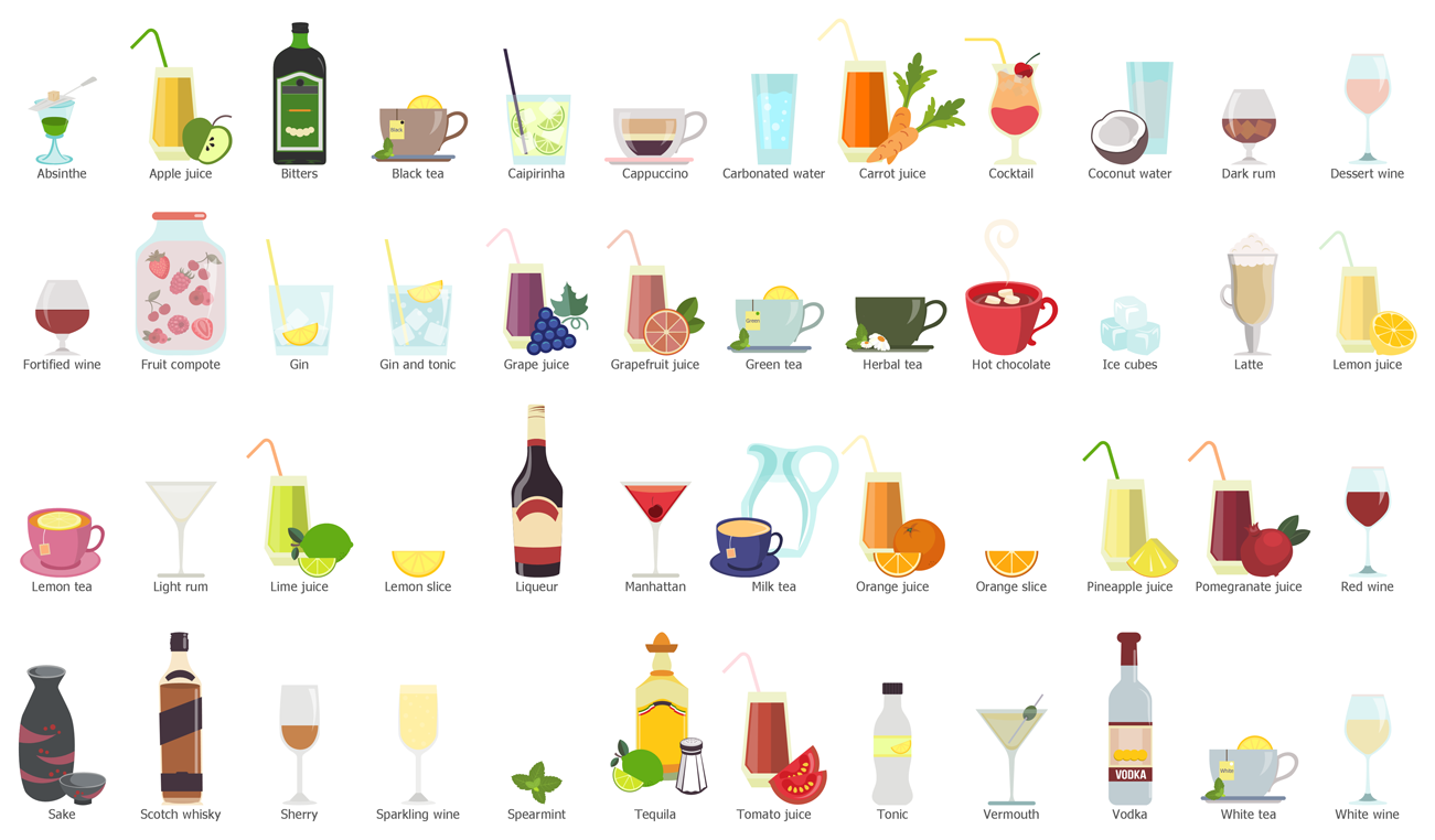 Design Elements — Drinks