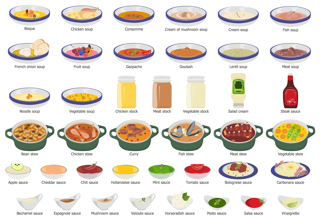 Design Elements — Soups, Stocks, Stews and Sauces