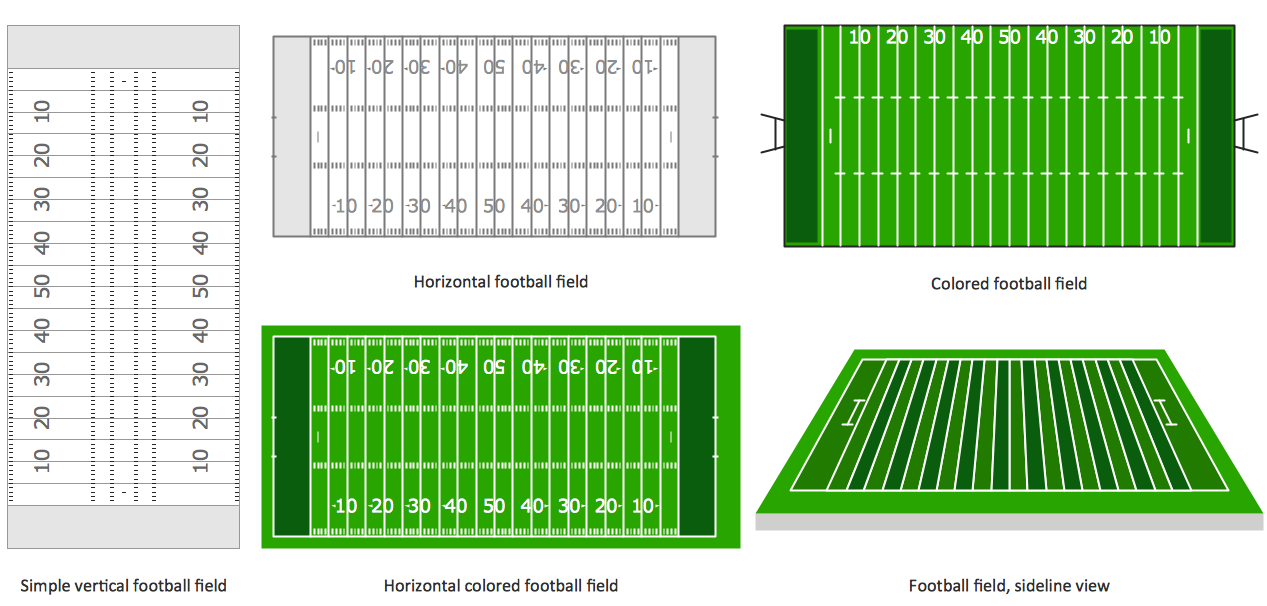 Design Elements — Football Fields