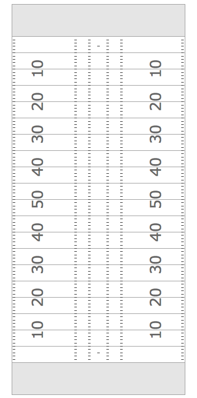 Simple Vertical Football Field Template